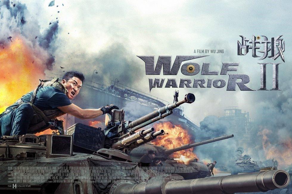 Wolf Warriors 2 Meledak Hebat Montasefilm