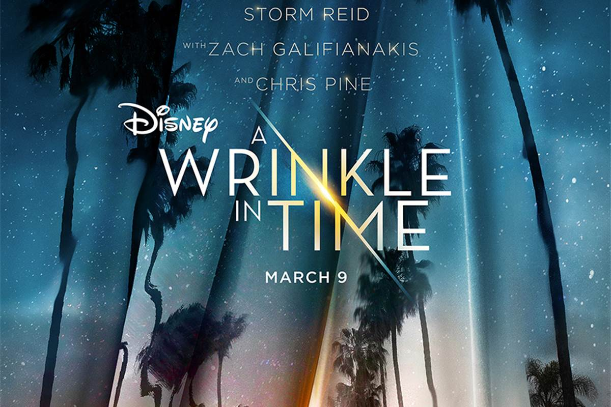 review of a wrinkle in time A wrinkle in time, about three children and three magical beings trying to locate a missing physicist and stop evil from overwhelming the universe, is as dislocated from the current moviegoing moment as its human heroes are from their lives back on earth it's a gentle fantasy, seemingly pitched.